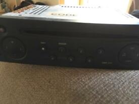 Renault car stereo /cd head unit