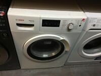 BOSCH 7/4 KG WHITE WASHER DRYER