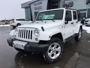 2014 Jeep Wrangler Unlimited Sahara 4x4|Remote Start|Removable T