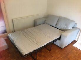 Sofa Bed - John Lewis (practically brand new!)