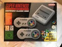 Super Nintendo SNES Mini Classic brand new