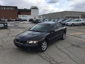2002 Volvo S60 2.4T A SR AWD ~ LEATHER ~ SUNROOF ~