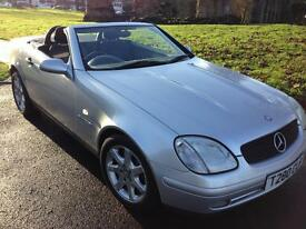 MERCEDES SLK 230 KOMPRESSOR LOW MILEAGE AMAZING CAR CONVERTIBLE