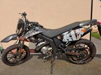 AJS JSM 50cc SUPERMOTO ( not restricted 30mph top speed )