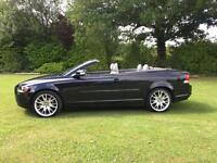 Volvo C70 convertible diesel automatic D5 1 owner fsh