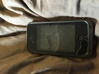Black Lifeproof Case for iPhone 4