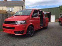 vw t5 lwb brand new campervan conversion,facelift sportsline