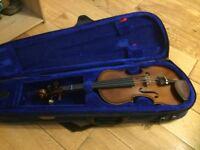 Three-quarter size Stentor violin