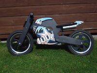 Balance bike - Kiddimoto 'Heroes' range. Used but in excellent condition. (not free) ��140 new
