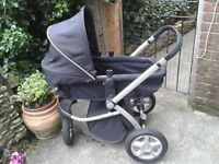 MOTHERCARE MyChoice My3 Pram - great condition