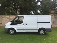 FANTASTIC TRANSIT VAN phonomanal low miles super rare1 piece tailgate just of service from council