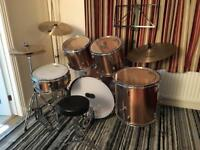 Session Pro Studio Series Drum Kit with Great Quality Cymbals