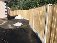 🍁New Pressure Treated Feather Edge Flat Top Fence Panels• Excellent Quality new