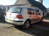 Golf 1.9TDI Match Only 2 Careful over 50 owners. Excellent very economical runner.