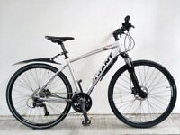 "FREE Speedometer (2621) 700c 19"" Aluminium GIANT HYBRID DISC SUSPENSION BIKE BICYCLE H: 173-188 cm"