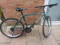 mens retro townsend mountain bike with lock £45.00