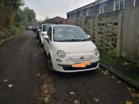 Fiat 500, Hatchback 0.9 TwinAir Lounge 3dr (start/stop), 47,000 miles