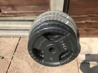 """20kg Olympic 2"""" plates"""