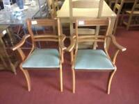 Dining chairs tcl 20388, 20389. £16 each