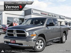 2011 Dodge Ram 1500 SLT 4WD HEATED CLOTH | SIRIUS XM