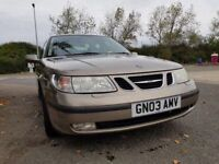SAAB 9-5 ARC TID SALOON ,,STAMPED SERVICE HISTORY.. FULL LEATHER INTERIOR..FULLY LOADED £1450