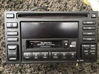 Subaru double din head unit