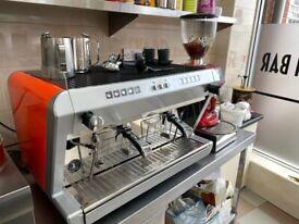Wega commercial coffee machine