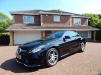 Mercedes E250 CDI AMG SPORT (black) 2013