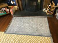 Blue rug 150x80
