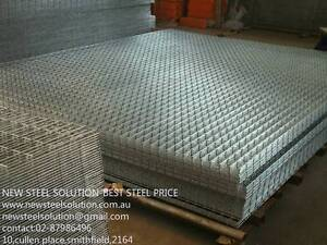 CAGE,TRAILER MESH-25mm*25mm*2.5mm WITH 2.4M*2M GALVANIZED MESH Smithfield Parramatta Area Preview