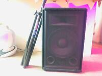 150w Passive PA Speaker With Stand