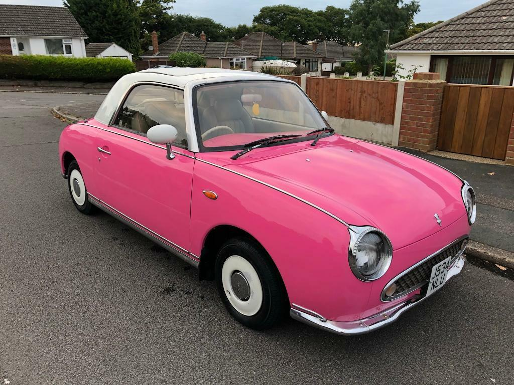 Nissan Figaro Convertible Rare Retro Classic Only 67 000