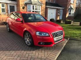 2008 A3 2.0 TDi S-LINE 140 SPORTBACK 91K FSH LEATHER BOSE S3 GRILLE IMMACULATE