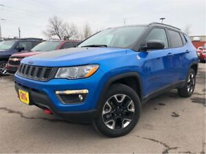 2017 Jeep Compass Trailhawk 4WD LEATHER NAV BACK UP CAM