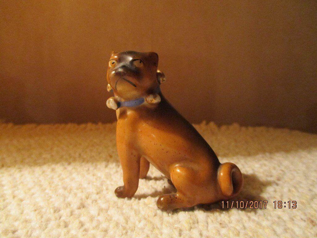 VINTAGE CHINA PUG DOG