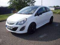 VAUXHALL CORSA 1.2 16V LTD LIMITED EDITION, WHITE, SALVAGE, CAT D, ACCIDENT DAMAGED,