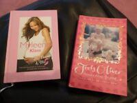 Myleen Klass My Bump & Me & Jools Oliver Minus Nine to One books