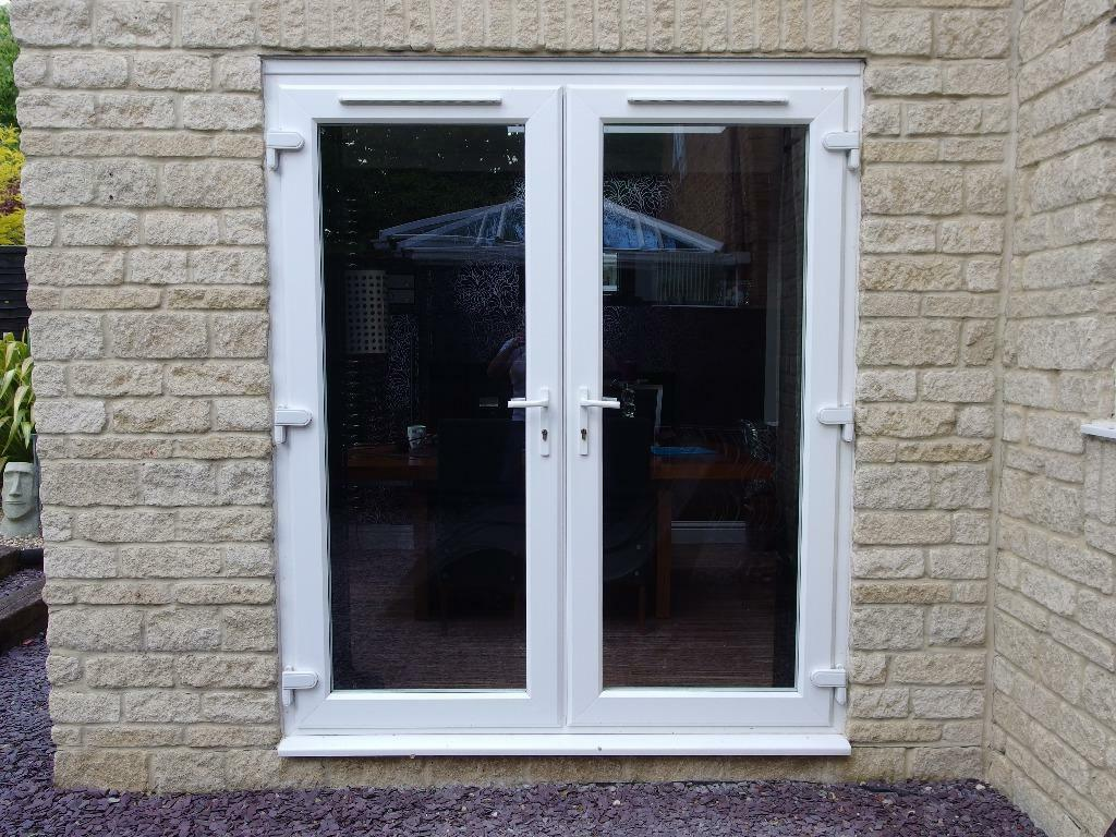 French doors white upvc with key buy sale and trade ads for White french doors for sale