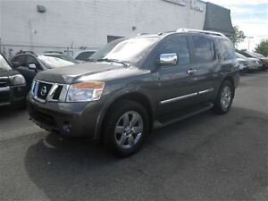 2012 Nissan Armada Platinum  4X4  Heated Leather  Loaded!