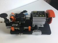 THM K47 Cylinder Key Cutting Machine (NEW with warranty and free delivery) - Demo Video Available