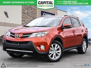 2015 Toyota RAV4 Limited * Navigation* Leather * Power Lift Gate