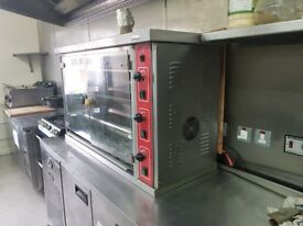 Chicken Rotisseries for Commercial Catering!! Great Condition!!Gas/LPG!!