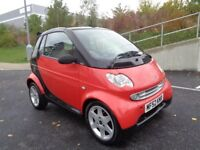 2002 SMART FORTWO CABRIOLET FULLY AUTOMATIC PETROL, LOW MILES, GREAT RUUNER