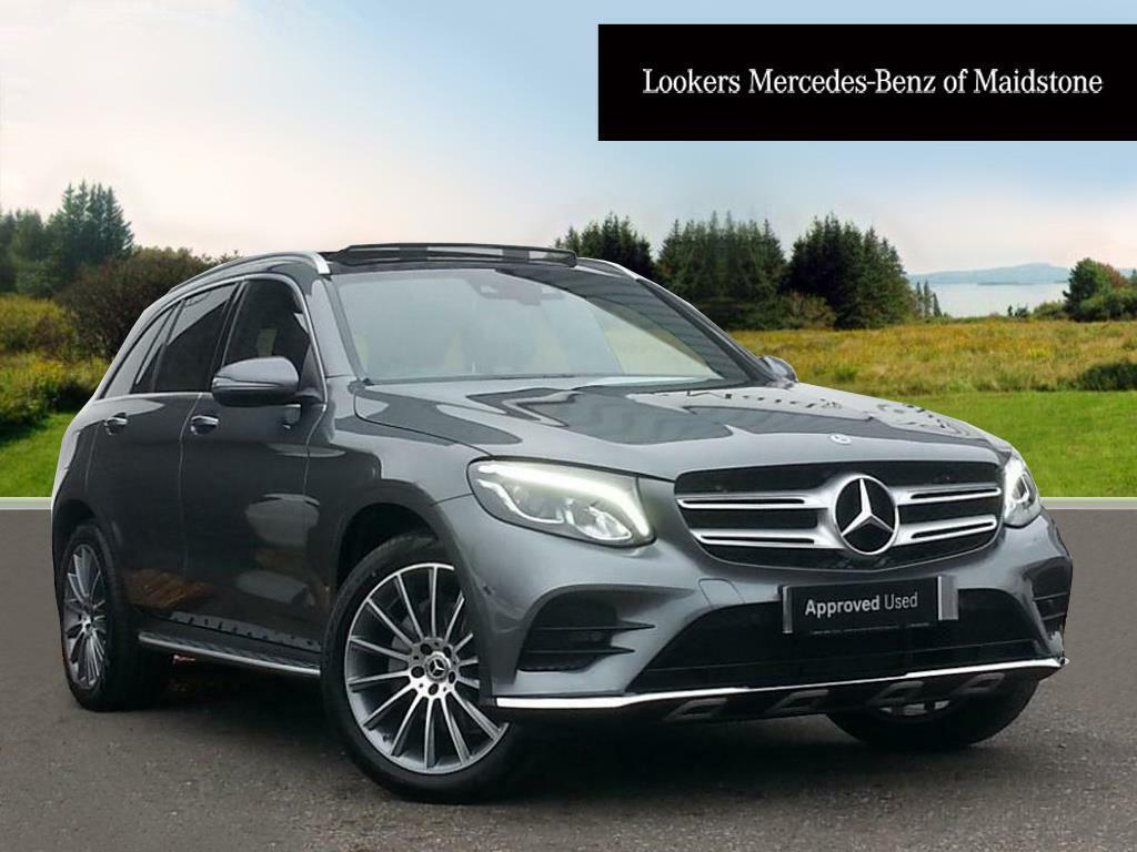 mercedes benz glc class glc 220 d 4matic amg line premium grey 2017 12 06 in maidstone kent. Black Bedroom Furniture Sets. Home Design Ideas
