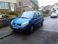 Renault scenic 2005 1.9 . 11 month m.o.t