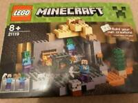 minecraft lego the dungeon
