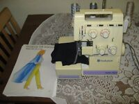 Huskylock 360D OVERLOCKER,excellent condition with instruction manual