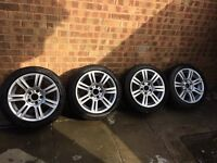 """17"""" BMW alloys with tyres"""