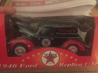 A black and red 1940 Ford Replica collectors car for sale!!