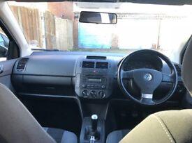 Dec 2008 Volkswagen Polo Black 1.2 Match 5dr Manual Hatchback, Petrol, 2 Keys